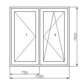 Műanyag ablak méretek
